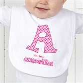 Alphabet Name Infant Bib - 1282-B