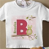 Owl About You Personalized Infant T-Shirt - 12837TT