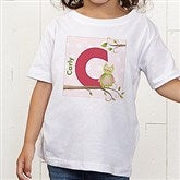Owl About You Personalized Toddler T-shirt - 12837-TT