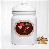Baked With Love Personalized Cookie Jar - 12867
