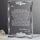 Dearest Mother Poem Personalized Keepsake - 12869