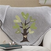 Leaves of Love Personalized Sweatshirt Blanket - 12871