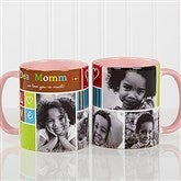 Photo Fun Personalized Coffee Mug 11 oz.- Pink - 12884-P