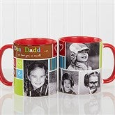 Photo Fun Personalized Coffee Mug- 11 oz.- Red - 12884-R