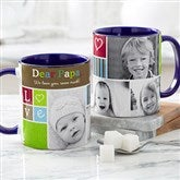 Photo Fun Personalized Coffee Mug 11 oz.- Blue - 12884-BL