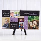 My Favorite Faces Personalized Canvas Print-5 Photos- 5½