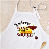 King Of The Grill Personalized Adult Apron - 12890-A