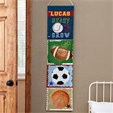Ready, Set, Grow Personalized Growth Chart - 12891