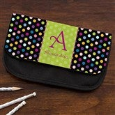 Polka Dots For Her Personalized Pencil Case - 12915