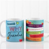 Reasons Why Personalized Coffee Mug- 11 oz. - 12930-S
