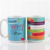 Reasons Why Personalized Coffee Mug- 15 oz. - 12930-L