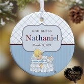 Precious Moments® Personalized Christening Ornament - 12931-P