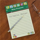 Teacher's Little Learners Personalized Notepad - 12937