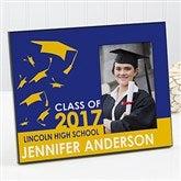 Graduation Excitement Personalized Photo Frame