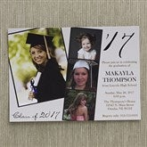 Refined Graduate Personalized Graduation Invitations - 12947