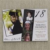 Refined Graduate Personalized Graduation Invitations - 12947