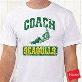 15 Sports Personalized Hanes® Coach T-Shirt - 12950-T