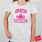 15 Sports Personalized Coach Ladies Fitted Tee - 12950-FT