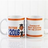Graduation Character Personalized Coffee Mug 11 oz.- White - 12954-W
