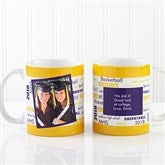 School Spirit Graduation Personalized Photo Coffee Mug 11 oz.- White - 12958-W