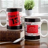 School Spirit Personalized Mug-15 oz. - 12958-L