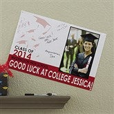 Graduation Excitement Personalized Signature Poster - 12