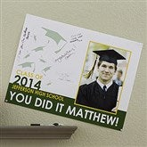 Graduation Excitement Personalized Signature Poster - 18
