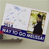 Graduation Excitement Personalized Signature Poster- 24