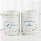 Cup Of Inspiration  Personalized Coffee Mug 15 oz.- White - 12972-L