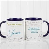 Cup Of Inspiration Personalized Coffee Mug 11oz.- Blue - 12972-BL