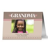 A Special Lady Personalized Photo Greeting Card - 12975