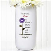 Blooms For Her Personalized Ceramic Vase - 12981
