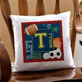 Ready, Set, Score Personalized Keepsake Pillow - 12997
