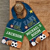 Ready, Set, Score Personalized Door Hanger - 12999