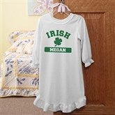 Irish Pride Personalized Youth Nightgown - 13008-NG