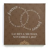 Forever & Ever Personalized Canvas Print 16