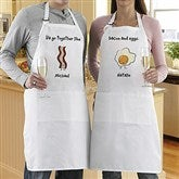 We Go Together Like.... Personalized Apron Set - 13014
