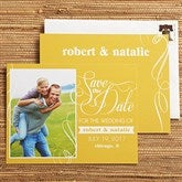 Simply In Love Personalized Photo Save The Date Cards - 13016-C