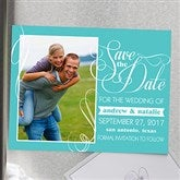 Simply In Love Personalized Photo Save The Date Magnets - 13016-M