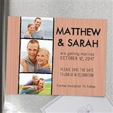 Simply In Love Personalized Save The Date Magnets - 13017-M