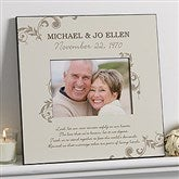 Our Marriage Blessing 5x7 Personalized Wall Photo Frame - 13022