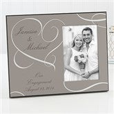 Our Engagement Personalized Photo Frame - 13024