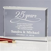 Happy Anniversary Personalized Keepsake - 13025