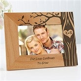 Carved In Love Personalized Picture Frame- 4 x 6 - 13026-S