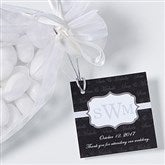 Wedding Monogram Personalized Gift Tags - 13030