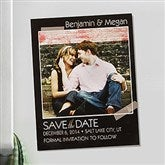 Tying The Knot Personalized Photo Save The Date Magnets - 13043-M