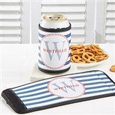 Anchors Aweigh! Personalized Can & Bottle Wrap - 13052