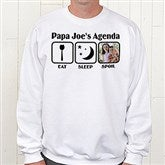 His Agenda Personalized Sweatshirt - 13053-SS