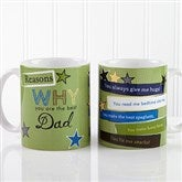 Reasons Why Personalized Coffee Mug 11 oz.- White - 13061-S