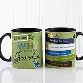 Reasons Why Personalized Coffee Mug 11 oz.- Black - 13061-B